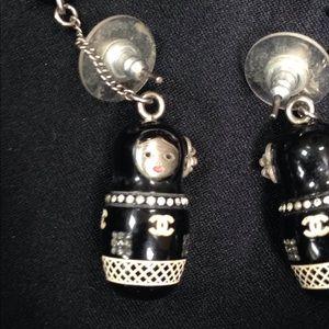 CHANEL Jewelry - Chanel Babushka Russian Doll earrings